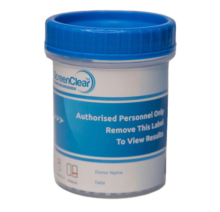 Screenclear urine drug test kit