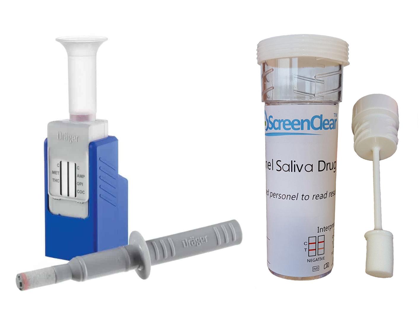 saliva drug tests
