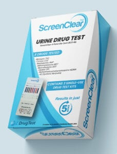 Screenclear 8 panel retail box