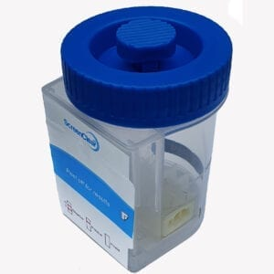 urine drug test cup split cup